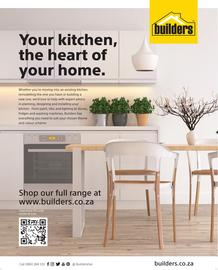 Builders : Your Kitchen, The Heart Of Your Home (1 Aug - 30 Sept 2018)