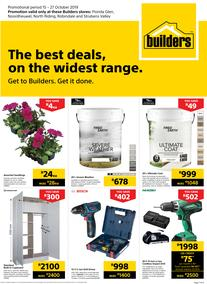 Builders Gauteng : The Best Deals On The Widest Range (15 Oct - 27 Oct 2019)