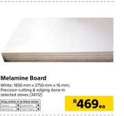 Special Melamine Board White 1830mm X 2750mm X 16mm Each Www Guzzle Co Za