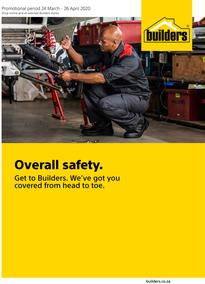 Builders : Overall Safety (24 March - 26 April 2020)