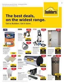 Builders Inland : The Best Deals On The Widest Range (23 July - 18 Aug 2019)