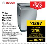 Bosch 13Kg Top-Load Washing Machine