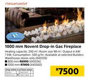 Special Megamaster 1000mm Novent Drop In Gas Fireplace Www Guzzle