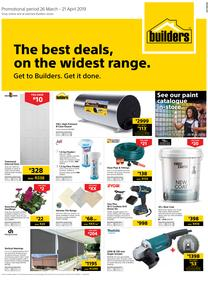 Builders Western Cape : The Best Deals On The Widest Range (26 Mar - 21 Apr 2019)