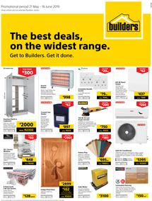 Builders Superstore KZN : The Best Deals On The Widest Range (21 May - 16 June 2019)