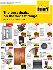 Builders PE : The Best Deals On The Widest Range (21 May - 16 June 2019)