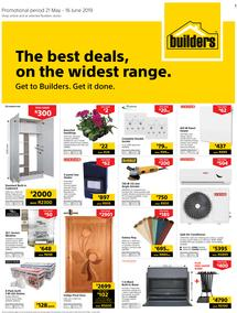 Builders Western Cape : The Best Deals On The Widest Range (21 May - 16 June 2019)