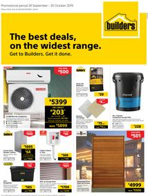 Builders Superstore KZN & EL : The Best Deals On The Widest Range (24 Sept - 20 Oct 2019)