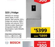 Defy 323Ltr Fridge DAC627