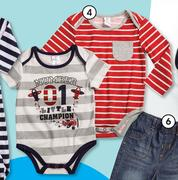 Clicks Made 4 Baby Clothing 2 Pack Boys Striped Body Vest