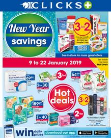 Clicks : New Year Savings (9 Jan - 22 Jan 2019)