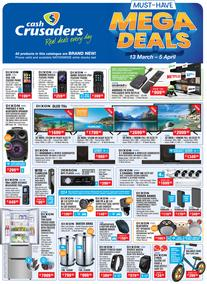 Cash Crusaders : Must Have Mega Deals (13 March - 5 April 2020)