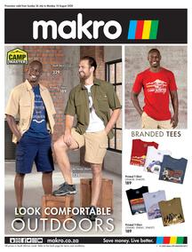 Makro : Camp Master Clothing (26 July - 10 August 2020)