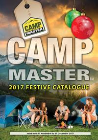 Camp Master : 2017 Festive Catalogue (17 Nov - 31 Dec 2017)