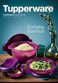 Tupperware : Everyday Essentials (01 April - 31 March 2021)