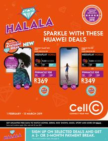 Cell C (01 Feb - 13 Mar 2019)
