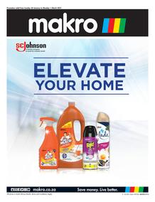 Makro : Homecare Cleaning (24 Janaury - 01 March 2021)