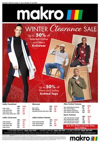 Makro : Clothing  (12 July - 27 July 2020)