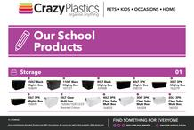 Crazy Plastics : Our School Products (01 March 2020 - While Stocks Last)