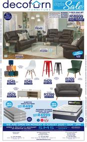 Decofurn Western Cape : Style Sale (09 August 2020 - While Stocks Last)