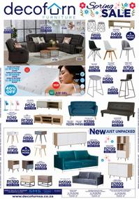 Decofurn Western Cape : Spring Sale (06 September 2020 - While Stocks Last)