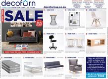 Decorfurn Cape Town : Sale (7 March - 21 March 2021 While Stocks Last)