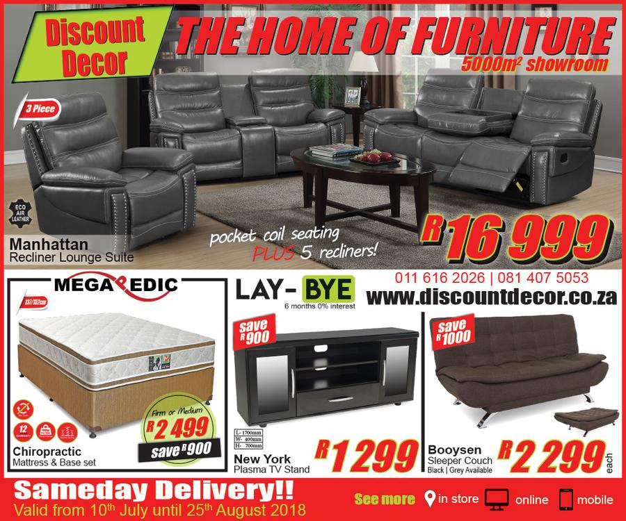 Discount Decor The Home Of Furniture 10 July