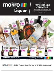 Makro : Easter Liquor (14 March - 05 April 2021)