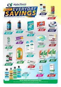 Alpha Pharm : Great Everyday Savings (Valid Until 29 Feb 2020)