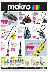 Makro : Floorcare (14 February - 01 March 2021)