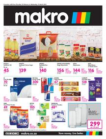 Makro Bloemfontein : Food (25 February - 10 March 2021)