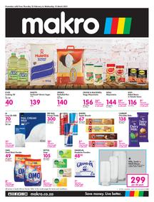 Makro Western Cape :  Food (25 February - 10 March 2021)