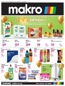 Makro Cape Town :  Food  (29 July - 11 August 2020)