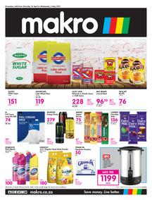 Makro Gauteng : Food (22 April - 05 May 2021)