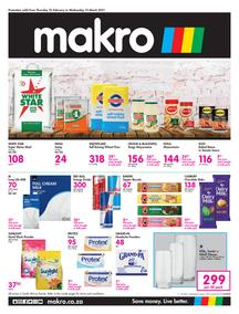 Makro Gauteng : Food (25 February - 10 March 2021)