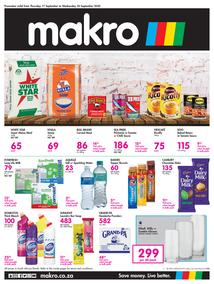 Makro Kwa Zulu-Natal : Food (17 September - 30 September 2020)