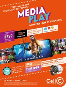 Cell C : Media Play (25 Apr - 31 May 2019)