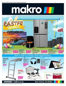 Makro : Easter General Merchandise (14 March - 22 March 2021)