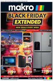Makro : Black Friday Extended (16 November - 22 November 2020)