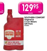 Special Southern Comfort Original 2 Can Mixers Gift Pack 750ml Www Guzzle Co Za