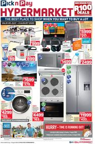 Pick n Pay Hypermarket : Specials (20 July - 2 August 2020)