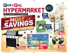 Pick n Pay Hyper : Get More Savings This Christmas (16 November - 27 December 2020)