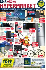 Pick n Pay Hyper : Specials (08 March - 22 March 2021)