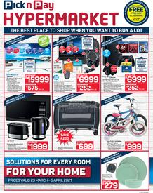 Pick n Pay Hyper : Deep-Cut Deals (23 March - 05 April 2021)