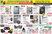 Tafelberg Furnishers Western Cape : Hot Deals (21 September - 27 September 2020)
