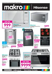 Makro :  Hisense (24 January - 01 February 2021)