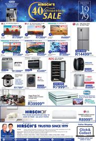 Hirsch's : 40 Years Anniversary Sale (18 Mar - 31 Mar 2019)
