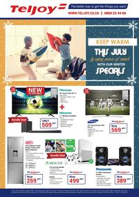 Teljoy : Winter Specials (1 July - 31 July 2018)
