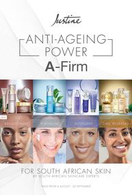 Justine : Anti-Ageing Power (06 August - 30 September 2020)