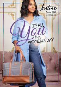 Justine : Its All You This Women's Day (01 August - 31 August 2020)